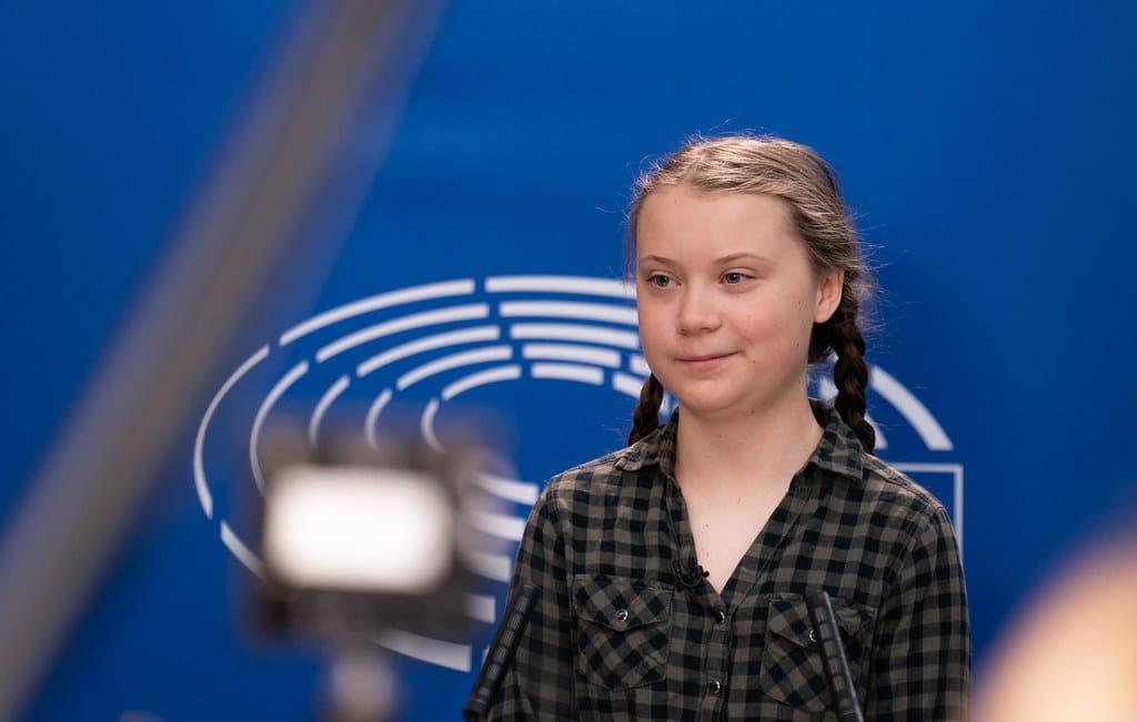 Visite de Greta Thunberg au Parlement européen