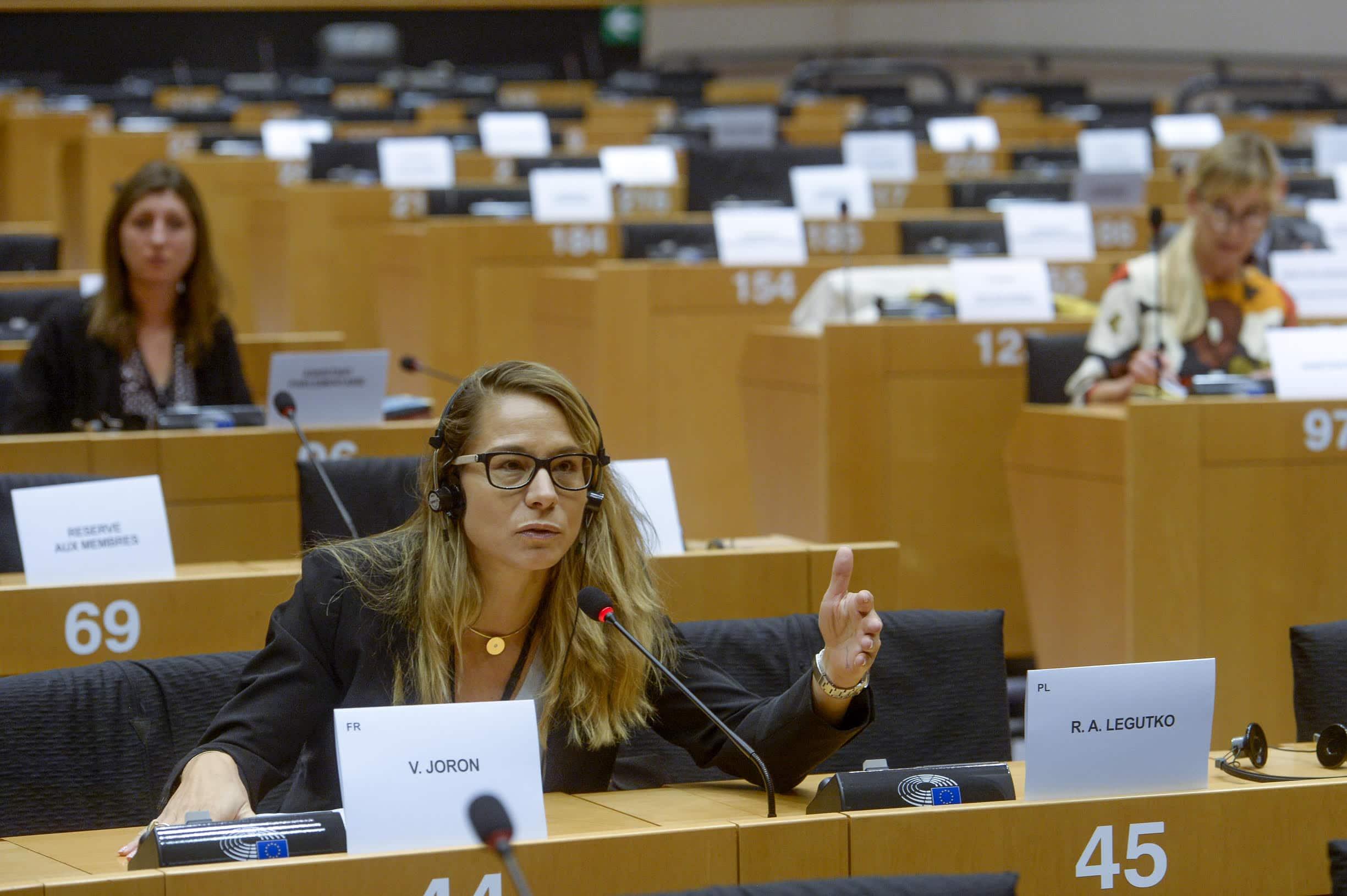 Communiqué de presse de Virginie Joron, Député français au Parlement européen, Membre de la Commission des droits des femmes et de l'égalité des genres